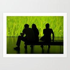 Greenerestifier Art Print