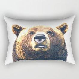 Bear portrait Rectangular Pillow