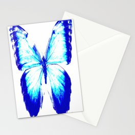 flies into the light Stationery Cards