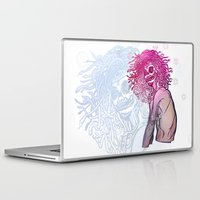 medusa Laptop & iPad Skins featuring MEDUSA by BABA-G | arts and crafts