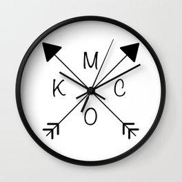 Kansas City x KCMO Wall Clock