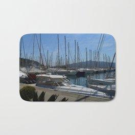 Netsel Yacht Marina Marmaris Turkey Bath Mat
