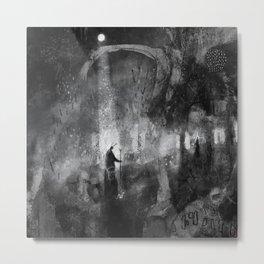 Mōnan Weg - The Moon Path Metal Print