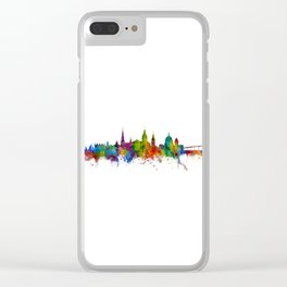 Annapolis Maryland Skyline Clear iPhone Case