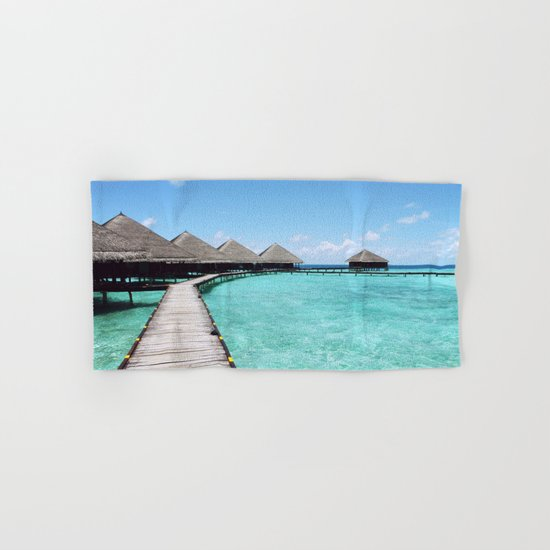 Paradise beach Hand & Bath Towel