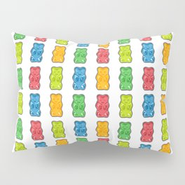 Rainbow Gummy Bears Pillow Sham
