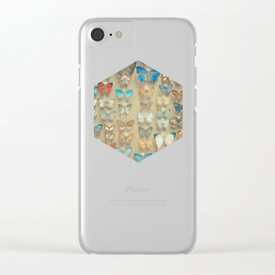The Butterfly Collection II Clear iPhone Case