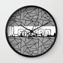 London #2 Wall Clock