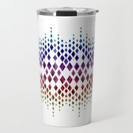 Colorful geometric pattern. Travel Mug