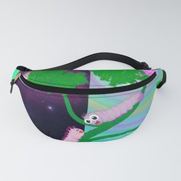Two Worms and Love Fanny Pack