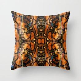 Rainbow Boa Throw Pillow