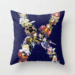 X-Men - Ladies of the Atom Throw Pillow