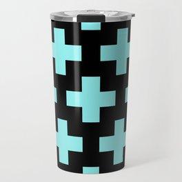 blue cross Travel Mug