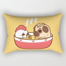 Chicken Noodle Puglie Soup Rectangular Pillow