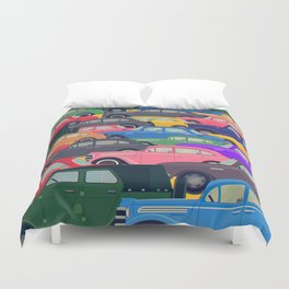 USSR traffic Duvet Cover