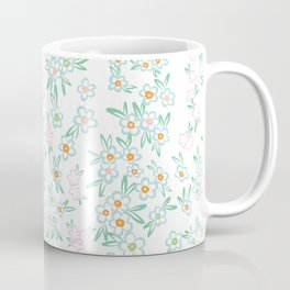 Forget me nots on white - in memory... Coffee Mug