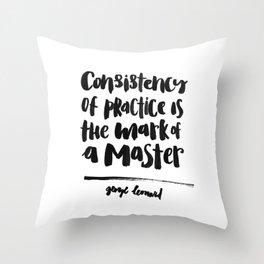 Mastery Throw Pillow