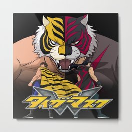Tiger Mask W 1 Metal Print