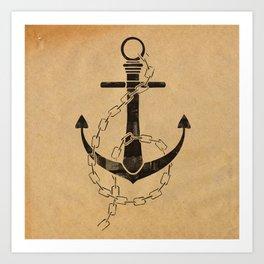 Anchor Print Art Print