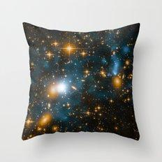 Cosmos 2, when stars collide (enhanced) Throw Pillow