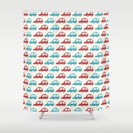 Beep Beep! (Patterns Please) Shower Curtain