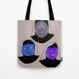 Creatures of Habit Tote Bag