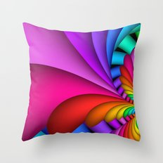 I love colors -9- Throw Pillow