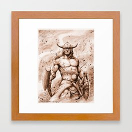 CONAN Robert E. Howard (2) Framed Art Print