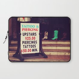 Tattoo & Piercing Laptop Sleeve