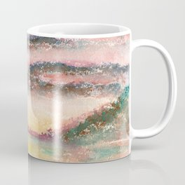 Ethereal Landscape Watercolor Illustration Coffee Mug