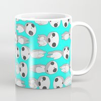 kodama Mugs featuring Kodama  by pkarnold + The Cult Print Shop