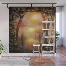 Calling The Sun XX Wall Mural