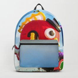 Fancy and Cute Hot Air Balloon Fish Backpack