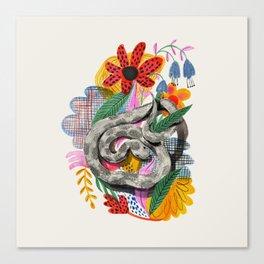 Fancy Snake Canvas Print