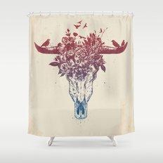 Dead summer Shower Curtain