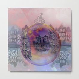 All bubbles are magical Metal Print