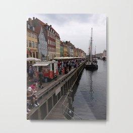 Nyhavn Pier  Metal Print