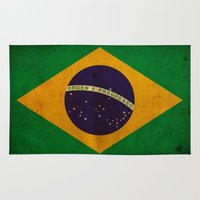 brasil Area & Throw Rugs featuring Brasil by NicoWriter