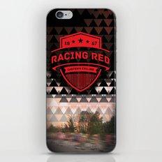 Gastown Cycling Racing Reds iPhone Skin