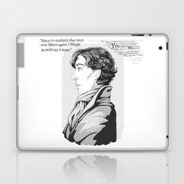 Words Left Unsaid Laptop & iPad Skin