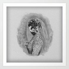 Bride I Art Print