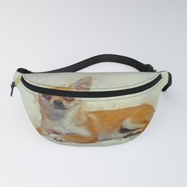 Chihuahua Art Fanny Pack