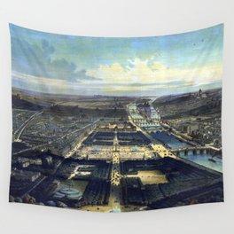 Vue générale de Paris Wall Tapestry