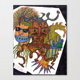 The Weirdos Canvas Print