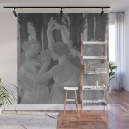 Black White Primavera Wall Mural