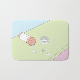 Heart Ache Pills Bath Mat