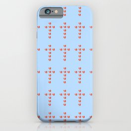 Christian cross and heart iPhone Case