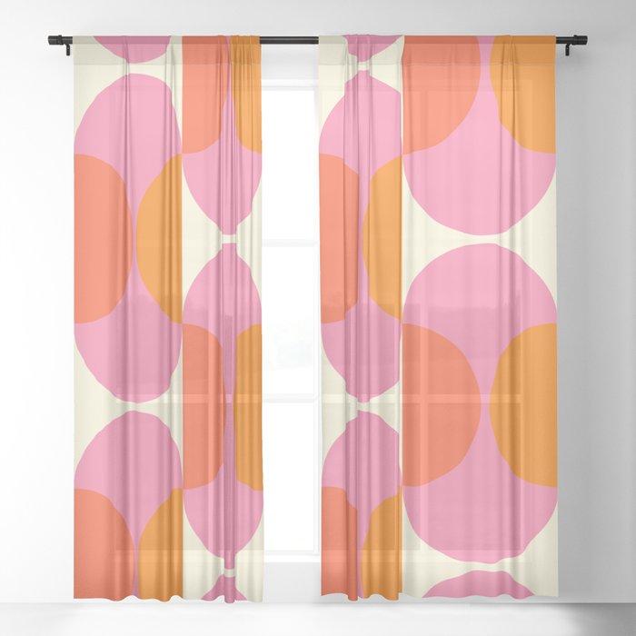 Capsule Sixties Sheer Curtain