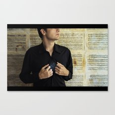comfortably numb Canvas Print