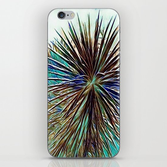 Joshua Tree Mintz by CREYES iPhone Skin